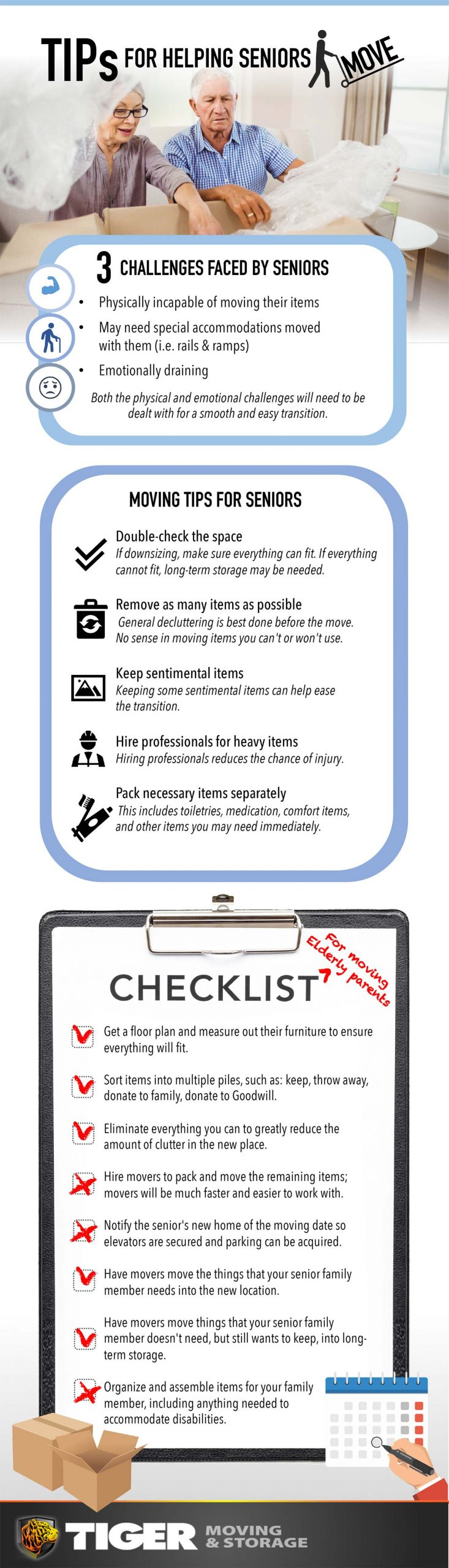 Tips For Helping Seniors Elderly Move Infographic Scaled